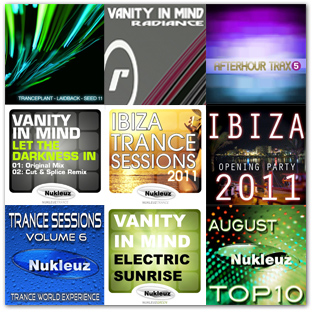 A selection of Vanity In Mind releases in 2011